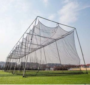 Twisted Poly Batting Cage Net and Frame 2.7mm X 55 X 12 X 12 pictures & photos