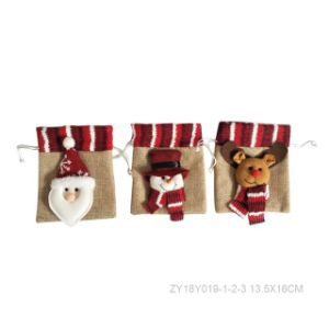 Christmas Drawstring Bag Craft pictures & photos