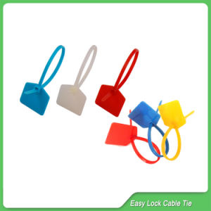Zipper Pull Plastic Security Seal (JY-120) pictures & photos