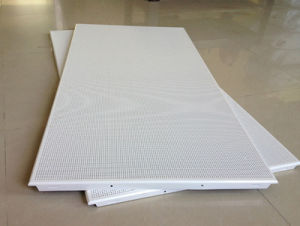 Perforated Aluminum Acoustic Panels pictures & photos