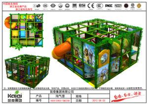 Kaiqi Small Medium Sized Grassland Themed Indoor Soft Play Playground (KQ20120803A-TQBZ25B) pictures & photos