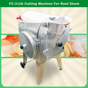 FC-312A Multifunction Vegetable Slicing Machine Root Vegetable Slicer Potato Chips Cutting Machine Wave Chips Slicing Machine Potato Slicer Carrot Shredder pictures & photos