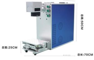 High-Speed CO2 Laser Marking Engraving Machine for Fibre pictures & photos