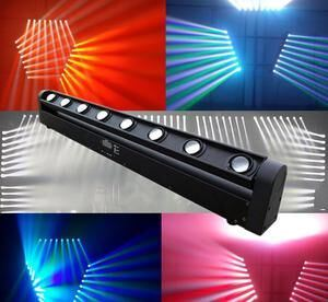 8 Eyes LED Rotation Moving Head Light for Disco Stage DJ pictures & photos