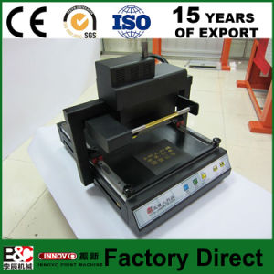 Zx219 Book Digital Foil Hot Stamping Machine Hot Press Machine pictures & photos