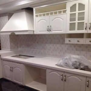 American Standard PVC+MDF Kitchen Cabinet pictures & photos