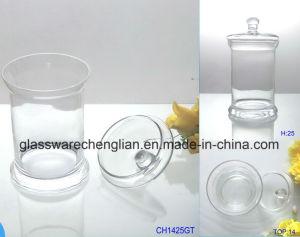 Glass Food Storage Dessert Jar (J-014) pictures & photos