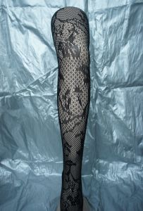 Sexy Legging Fishnet Pantyhose in Black 1973 pictures & photos