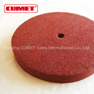 6′′*1 Red Non-Woven Wheel pictures & photos