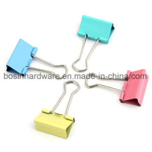 Mini Metal Binder Clips for File Holder pictures & photos