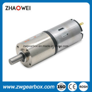 12V Low Rpm Small DC Gear Motor with Gearbox pictures & photos