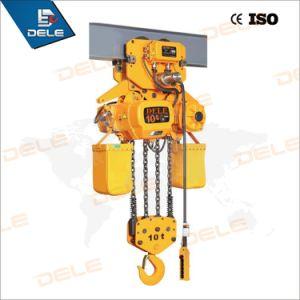 Building Hoist of 3ton Electric Chain Hoist pictures & photos