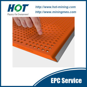 Polyurethane Vibrating Screen Linear Sieve Panel pictures & photos