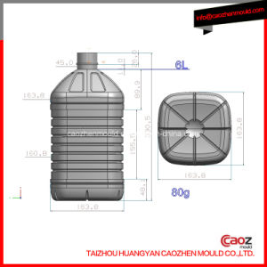 6 Liter Plastic Oil Pet Bottle Mold
