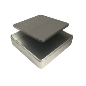 Square No Printing Metal Tin Box Wholesale Tin Container pictures & photos