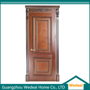 High Quality Interior Luxury Solid Wood Door pictures & photos