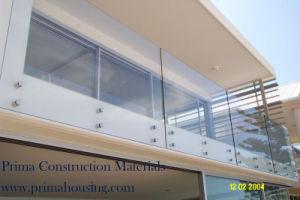 Best Modern Handrail Design Stainless Steel Frameless Glass Balcony Railing pictures & photos