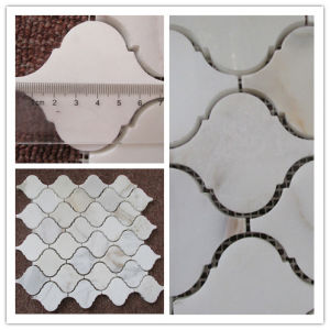 The High Quality Calacatta Gold Mosaic Tile for Ktchen and Bathroom pictures & photos