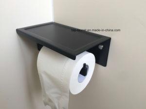 Modern Matte Black Designer Bathroom Fittings 5 Years Guarantee Toilet Brush pictures & photos