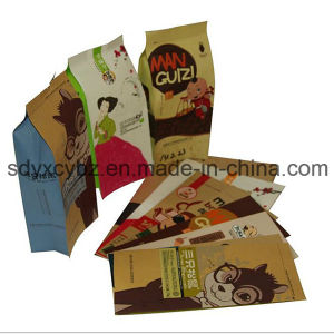 Side Gusset Kraft Paper Bag for Snack Food and Dried Fruit pictures & photos