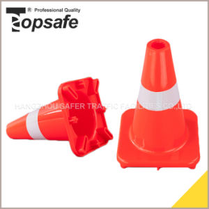30cm PVC Traffic Cone with High Intensity Reflective pictures & photos