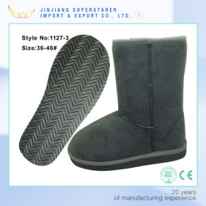 Flexible Womens EVA Fully Fur Lined Winter Snow Boots pictures & photos