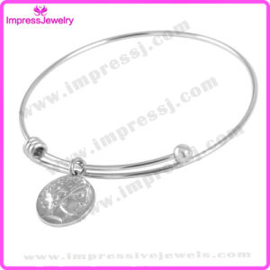DIY Custom Jewelry Women Charms Bangle in Stainless Steel pictures & photos