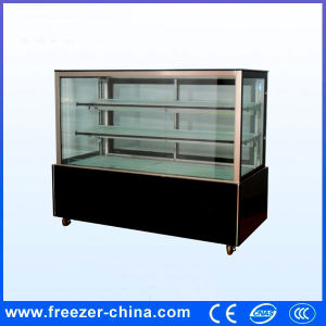 Right Angle Marble Cake Display Showcase for Cake Shop pictures & photos