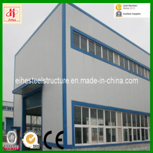 Two-Storey Prefabricated Steel Frame Building/Workshop pictures & photos