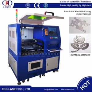 500W Higher Precision Fiber Laser Metal Cutting Machine pictures & photos