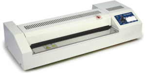 Temperature Adjustable Metal Pouch Laminator (450mm) pictures & photos