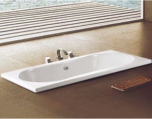 Ce Certificated Quality 1800mm X 800mm Milan Inset Drop in Bath Tub pictures & photos