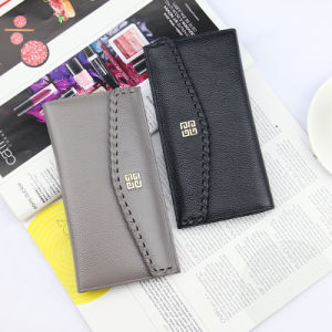 2017 Designer Real Leather Women Wallet with Decorative Border Purse (BDX-171010) pictures & photos