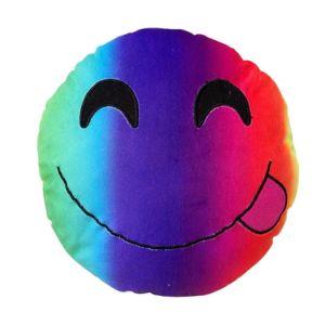 Plush Fabric PP Cotton Filling Color Emoji Pillow pictures & photos