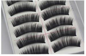 Cotton False Eyelash, Thread High Quality Thick Eyelashes