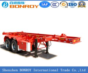 40FT 2axle Skeletal Container Semi-Trailer pictures & photos