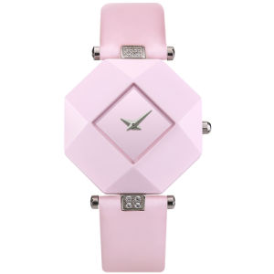Fashion Sexy Women Dress Sapphire Ceramic Watches Large Dial Square Black White Waterproof Shockproof Relogio Feminino Free pictures & photos