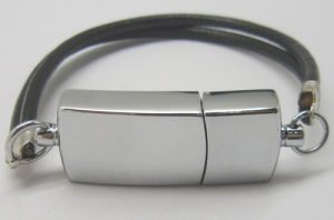 Bracelet and Leather USB Flash Drive with Printing Your Logo pictures & photos