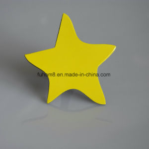 Custom Fashion Star Shape PVC Fridge Magnet pictures & photos