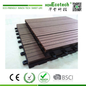 WPC DIY Decking Tiles Roof/Balcony /Washing Room DIY WPC Floor Tile pictures & photos