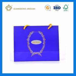 Promotional Customized Shopping Paper Bag with Full Color Printing (Logo Spot UV) pictures & photos