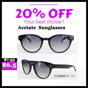 High Quality Colorful Acetate Fashion Sunglasses pictures & photos