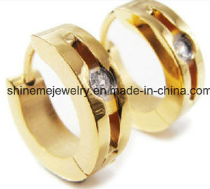 Shineme Jewelry High Quality Stainless Steel Earring (ERS6992) pictures & photos