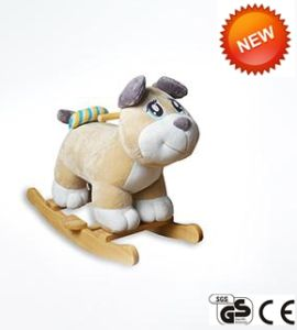 Lovely Stuffed Plush Toys Baby Rocking Horse Toy Rocking Animal Ca-Ra08 pictures & photos