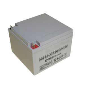 12V 180ah Gel Deep Cycle Battery for Solar Charger pictures & photos