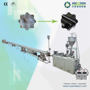 High-Efficient Single Screw Extruder for HDPE/PP/LDPE/PPR/Pert/PE Pipe Production Line pictures & photos