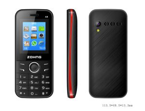 Bee Star Promotion Cheap 1.8 Inch GSM Feature Phone Dual SIM Bar Mobile Phone A8 pictures & photos