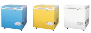 12V DC Compressor Mini Chest Deep Freezer for Household, Camper pictures & photos