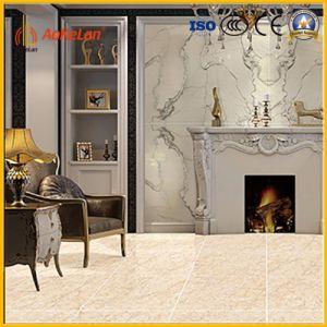Inkjet Marble Copy Glazed Polished Porcelain Tile for Floor pictures & photos
