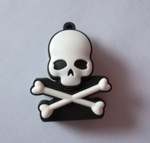 Skull Shaped USB Flash Drive/Cartoon PVC USB Memory Stick pictures & photos